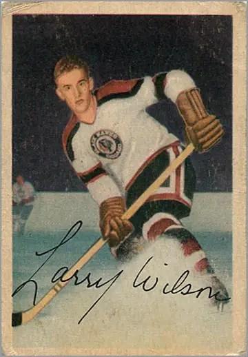 1953-54 Parkhurst #74 - Larry Wilson