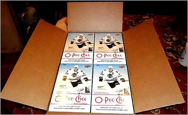 2012-13 O-Pee-Chee Case Break