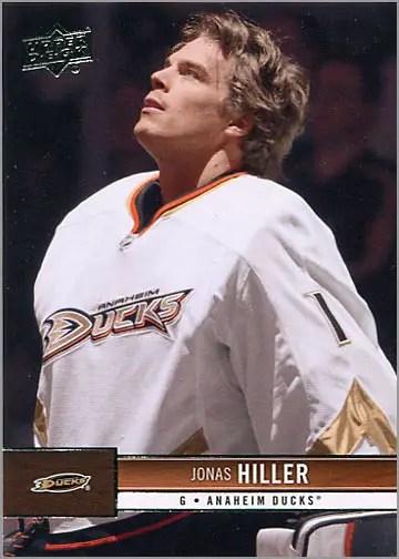 2012-13 Upper Deck #7 - Jonas Hiller