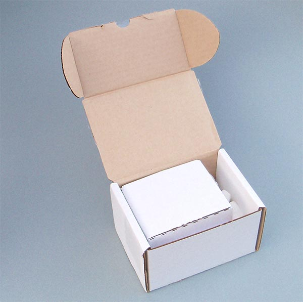 Check Out My Cards mailing box (open)