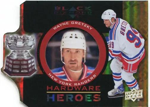 2012-13 Black Diamond Hardware Heroes #HH-WG- Wayne Gretzky
