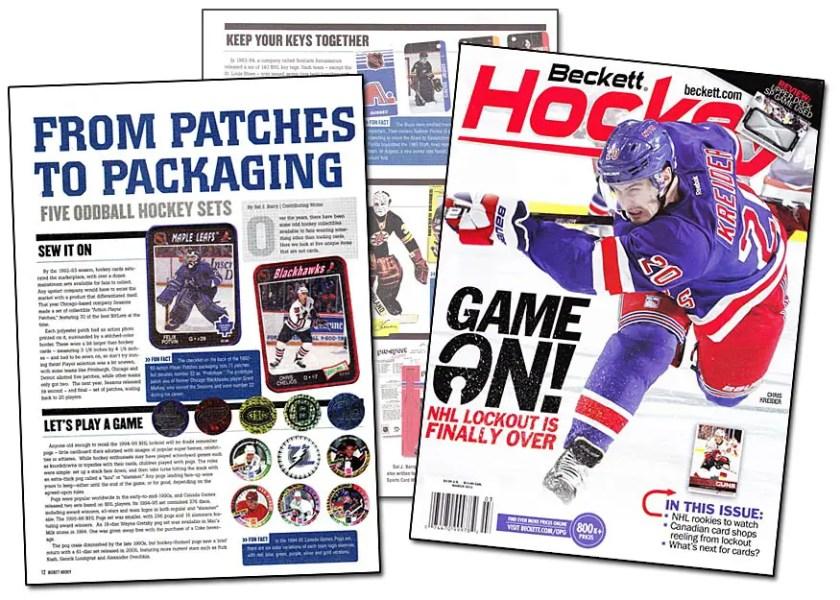 Beckett Hockey #247 March 2013