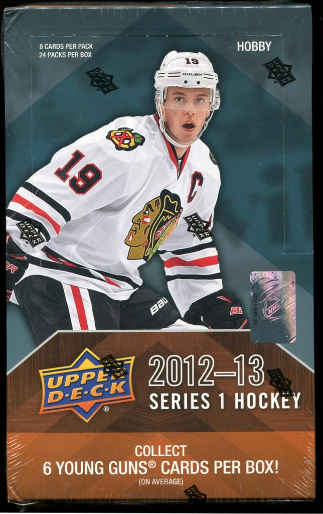 2012-13 Upper Deck Series 1 Box Break