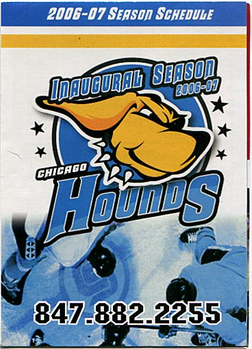 2006-07 Chicago Hounds Schedule