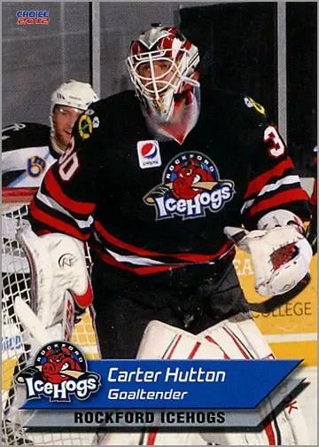 2011-12 Rockford IceHogs #10 - Carter Hutton