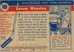 1954-55 Gump Worsley & Alex Delvecchio
