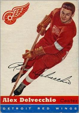 1954-55 Topps #39 - Alex Delvecchio