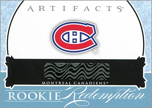 2012-13 Artifacts #RED213 - Redemption Card