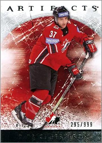 2012-13 Artifacts card #143 - Patrice Bergeron