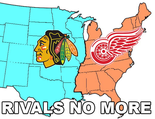 Blackhawks & Red Wings: Rivals No More