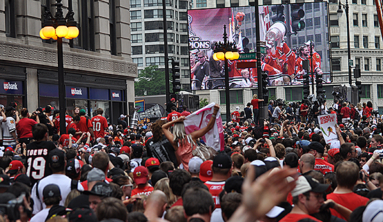Going to the Blackhawks parade Friday?