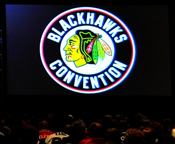 2013 Blackhawks Convention day 1 recap