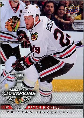 2013 Chicago Blackhawks Commemorative Box Set #1 - Bryan Bickell