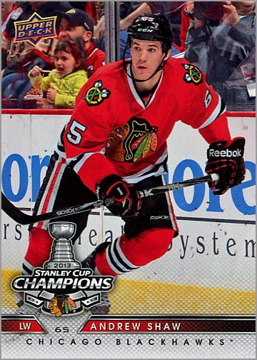 2013 Chicago Blackhawks Commemorative Box Set #22 - Andrew Shaw
