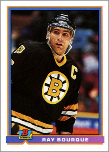 1991-92 Bowman card #356 - Ray Bourque