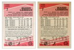1989-90 O-Pee-Chee Tembec Test prototype hockey cards