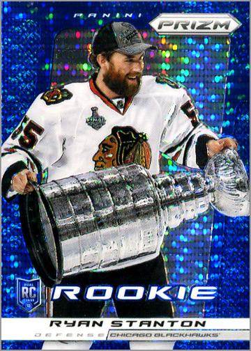 Ryan Stanton has best rookie card ever!