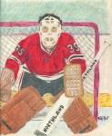 My attempt at hockey artistry, circa 1992