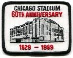 Chicago Stadium 60th Anniversary Patch