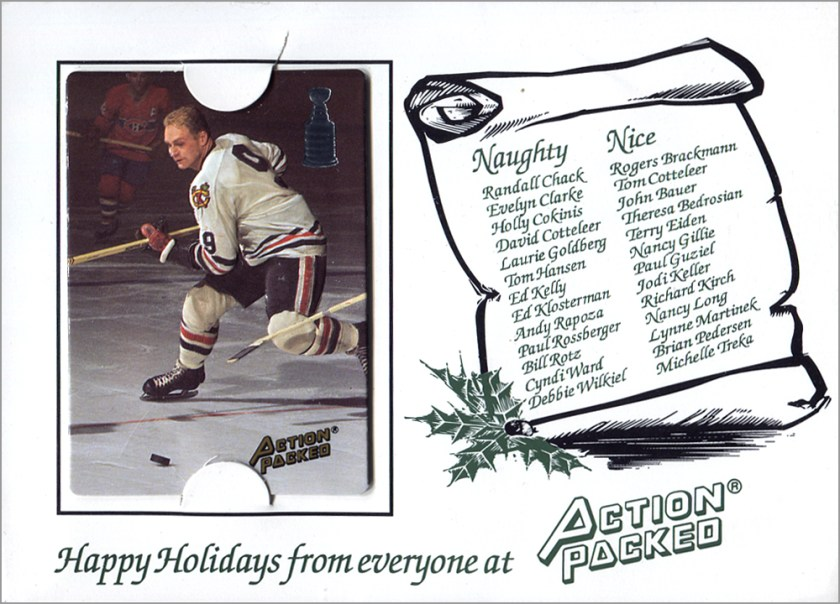 1993 Action Packed Holiday Card