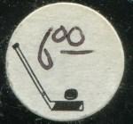 Hockey Card Price Tag Sticker