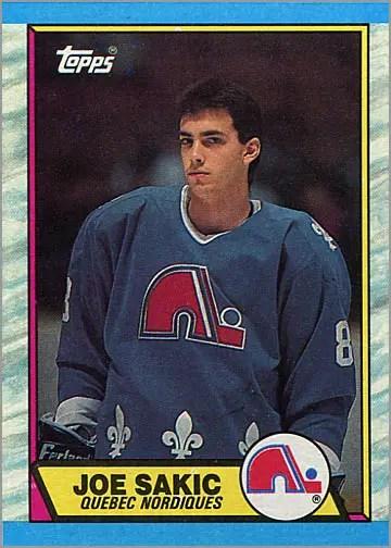 1989-90 Topps #113 - Joe Sakic