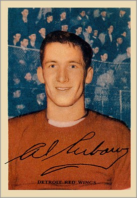 1953-54 Parkhurst #37 - Al Arbour (Bill Dineen)