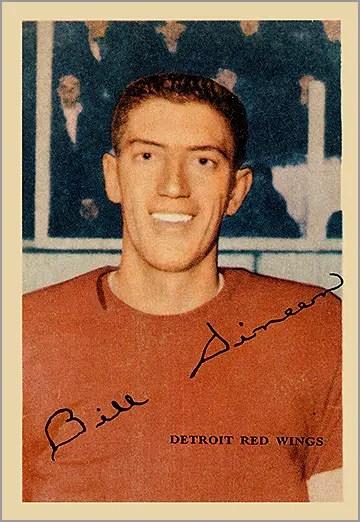1953-54 Parkhurst #38 - Bill Dineen (Al Arbour)