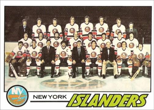 1977-78 O-Pee-Chee #81 - New York Islanders