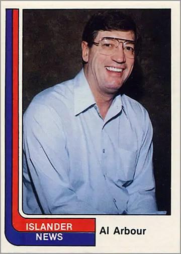 1984-85 Islanders News #29 - Al Arbour (coach)