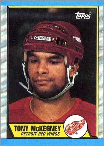 1989-90 Topps #4 - Tony Mckegney