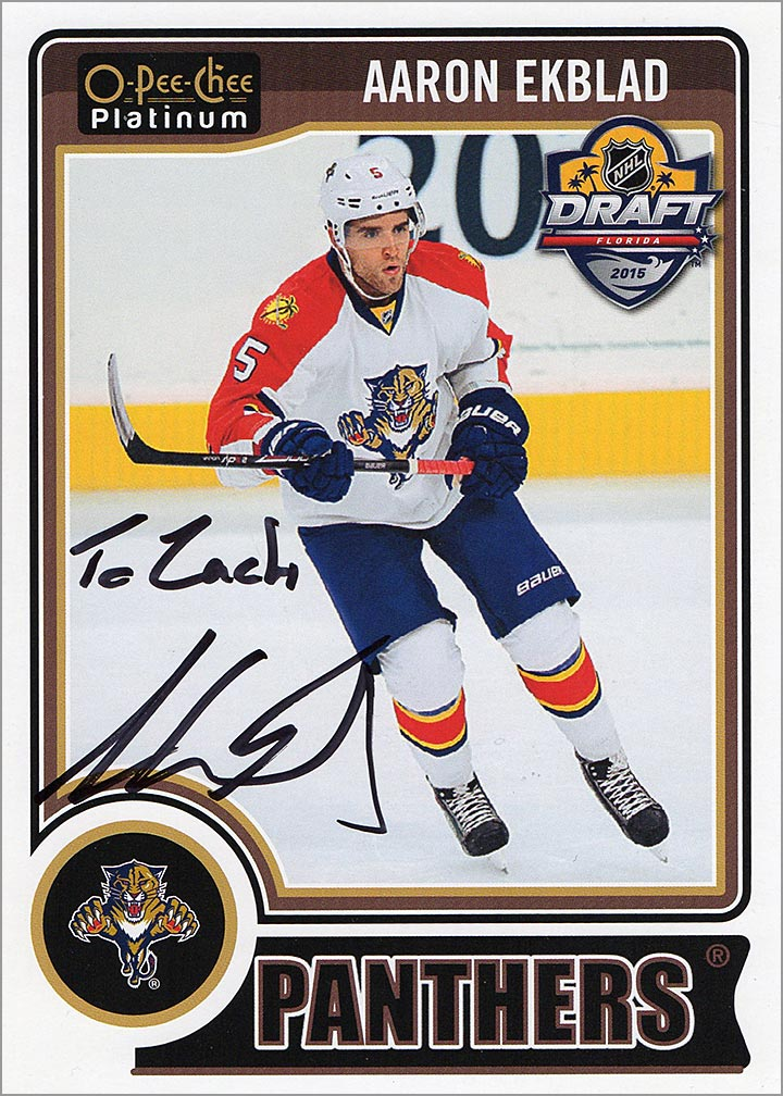 Aaron Ekblad, Supersized!