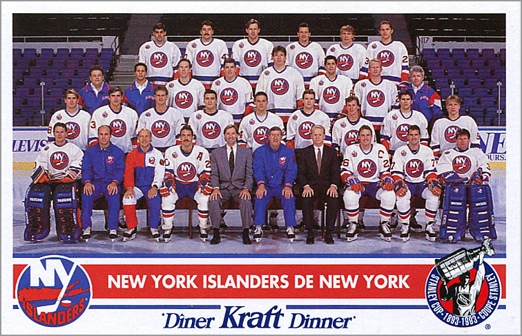 1992-93 Kraft Dinner - New York Islanders