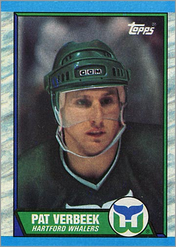 1989-90 Topps #32 - Pat Verbeek