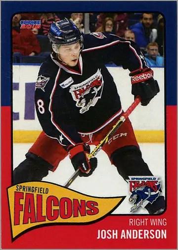 2014-15 Springfield Falcons #24 - Josh Anderson