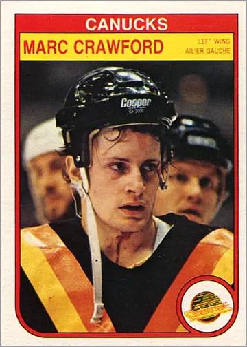 1982-83 O-Pee-Chee #342 - Marc Crawford