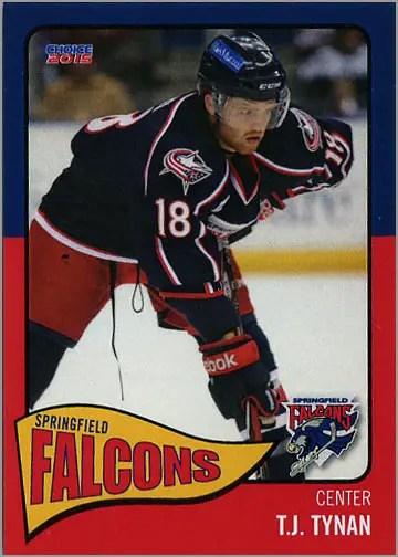 2014-15 Springfield Falcons #13 - T.J. Tynan