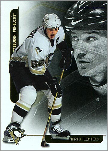 2003-04 In The Game Toronto Star Foil Inserts #F-1 - Mario Lemieux