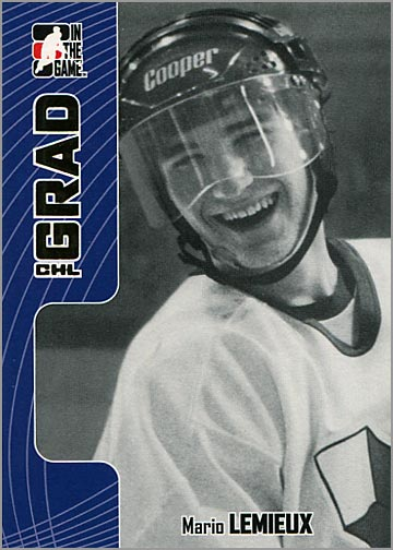 2005-06 In The Game Heroes & Prospects #338 - Mario Lemieux
