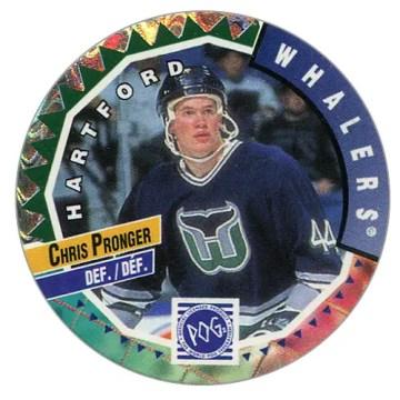 1994-95 Canada Games POGs #121 - Chris Pronger