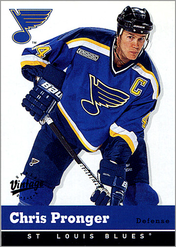 2000-01 Upper Deck Vintage #309 - Chris Pronger