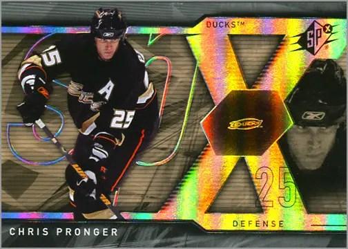 2007-08 Upper Deck SPx #4 - Chris Pronger