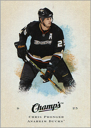 2008-09 Champ's #18 - Chris Pronger