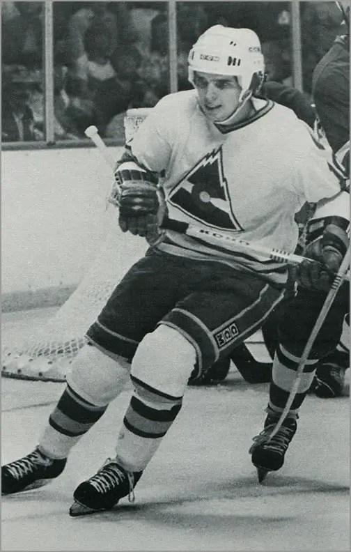 1981-82 Colorado Rockies Postcards #25 - Dave Cameron