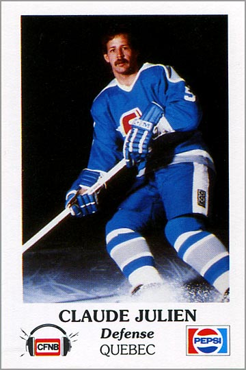 1983-84 Fredericton Express #16 - Claude Julien