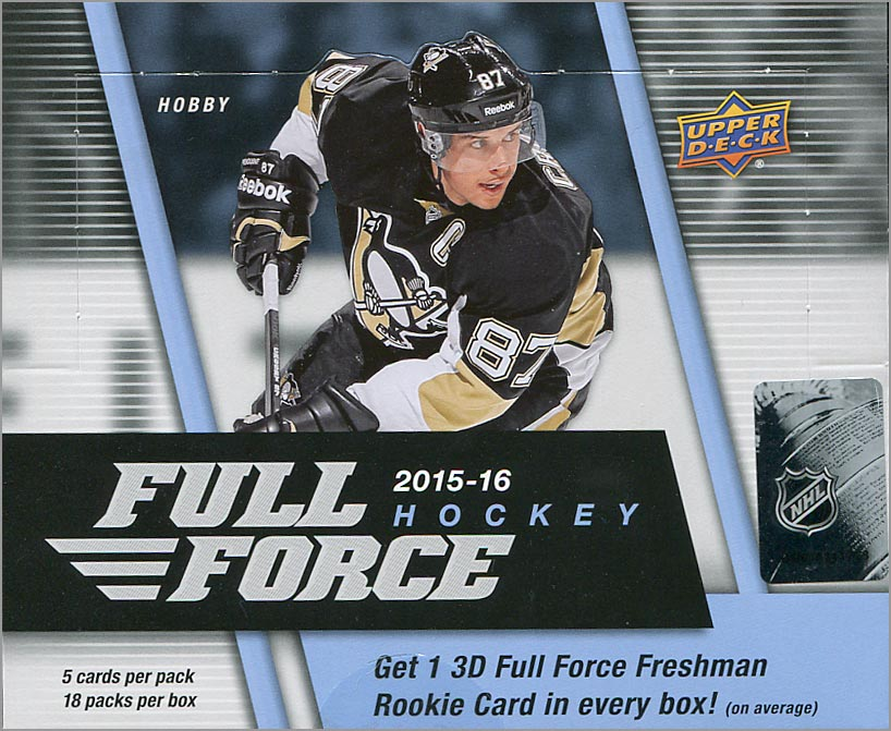 Box Break: 2015-16 Full Force Hockey