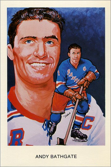 1983-HHOF-Postcards-O4-Andy-Bathgate