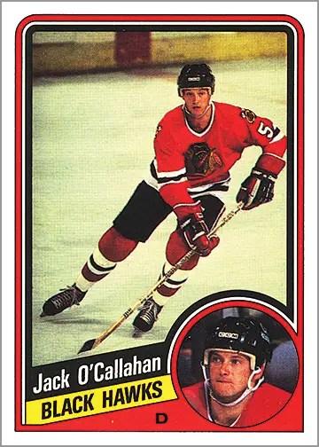 1984-85 O-Pee-Chee #43 - Jack O'Callahan