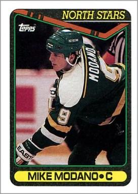 1990-91 Topps #348 - Mike Modano