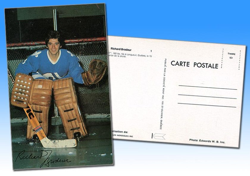 Review: 1976-77 Quebec Nordiques Postcards